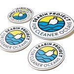 seabin project logo stickers